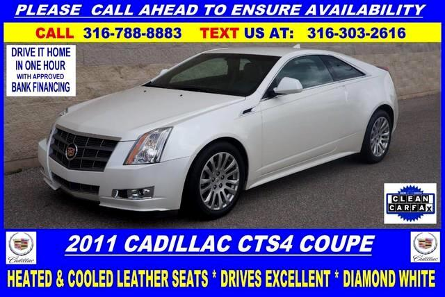 2011 Cadillac CTS Performance Coupe AWD w/ Navigation