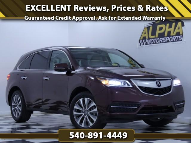 2015 Acura MDX SH-AWD w/ Technology Pacakge