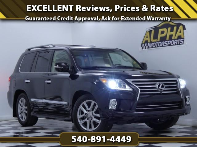 2013 Lexus LX 570 Luxury Package DVD Navigation