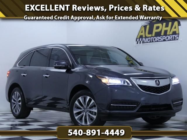 2015 Acura MDX SH-AWD w/ Technology Package