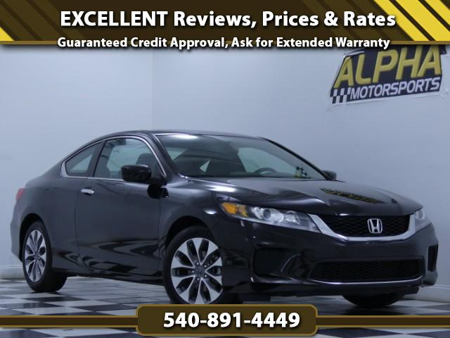2015 Honda Accord LX-S Coupe CVT