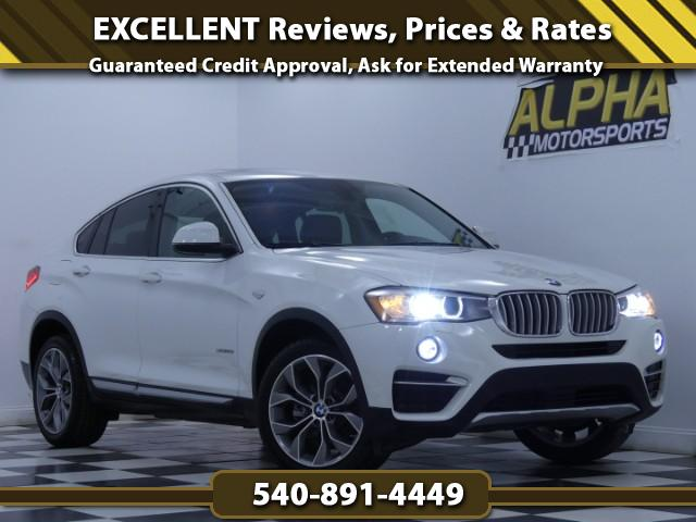 2015 BMW X4 xDrive28i X line Package