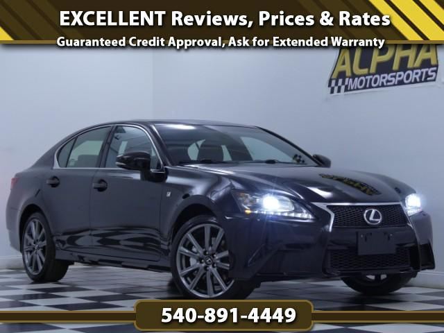 2015 Lexus GS 350 AWD w/ F-Sport Package