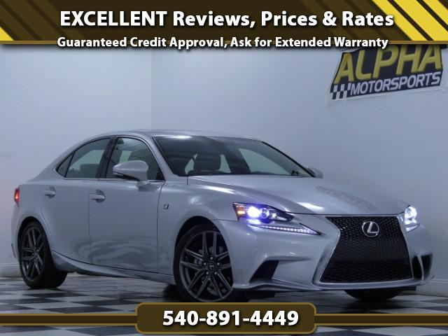 2015 Lexus IS 250 AWD w/ F Sport Package