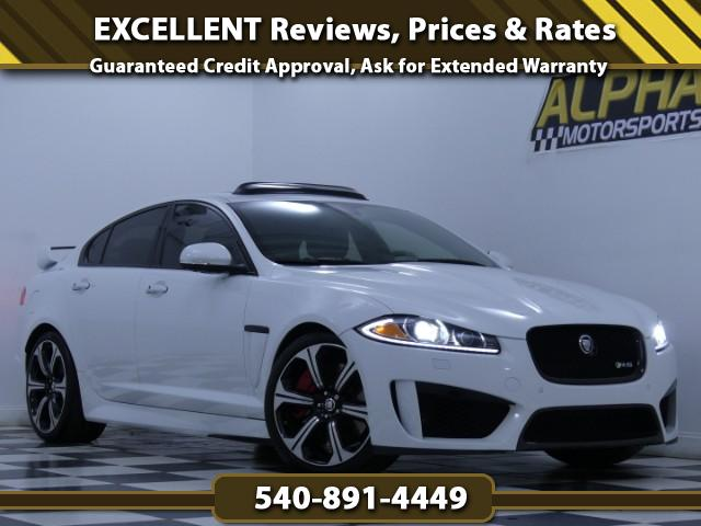 2013 Jaguar XF-Series XFR-S