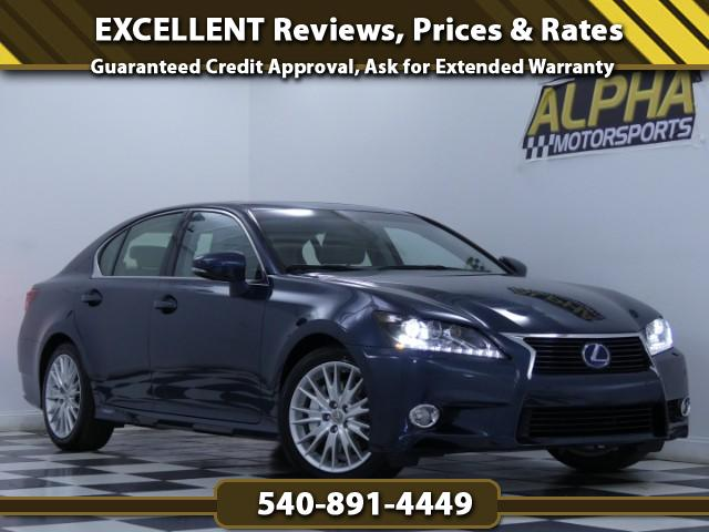 2013 Lexus GS 450h Luxury Package