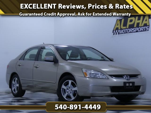 2005 Honda Accord Hybrid V6 5-Speed AT with Navigation System