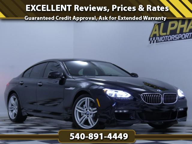 2015 BMW 6-Series Gran Coupe 640i xDrive w/ M-Sport Package