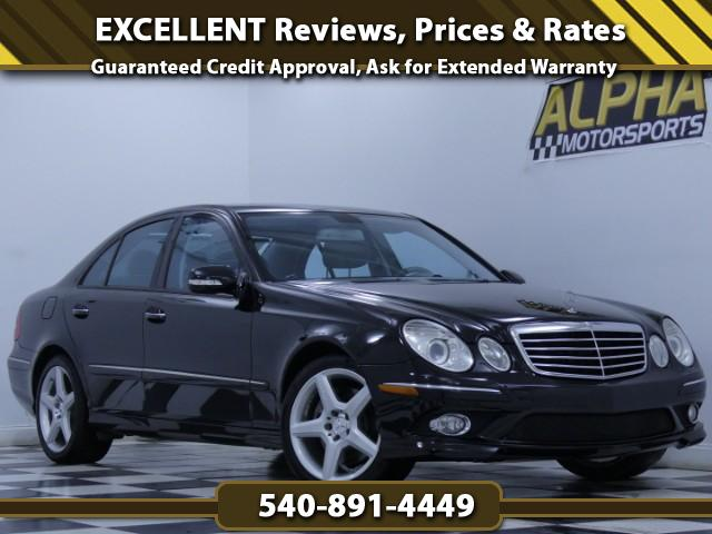 2009 Mercedes-Benz E-Class E350 Sport 4MATIC Sedan