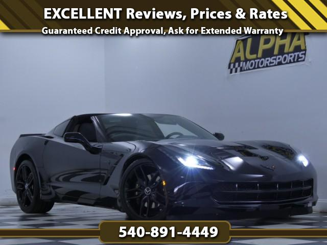 2015 Chevrolet Corvette 2dr Stingray Cpe w/1LT