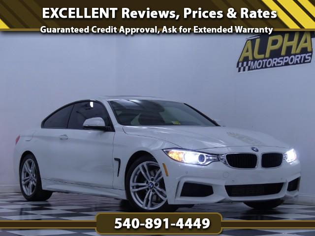 2014 BMW 4-Series 428i coupe w/ M-Sport Package