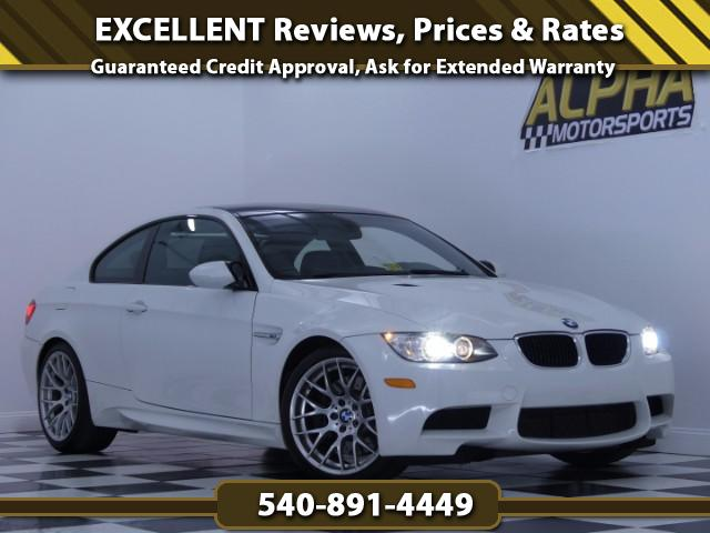 2012 BMW M3 Coupe w/ Competition Package