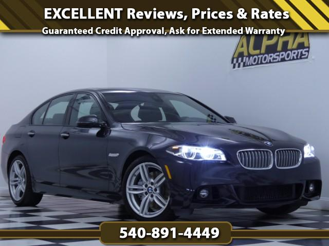 2014 BMW 550i Sedan w/ M-Sport Package
