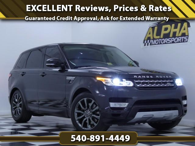2014 Land Rover Range Rover Sport Sport Supercharged HSE