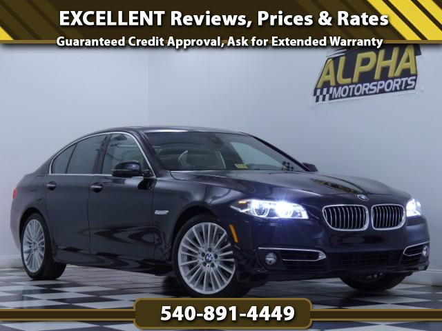 2015 BMW 550i Sedan w/ Sport Package