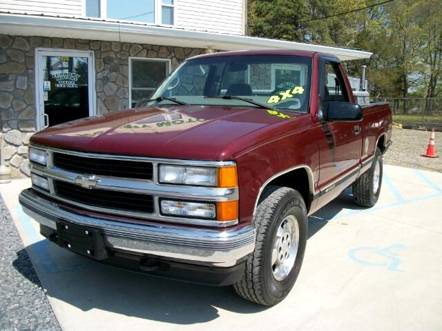 Used 1998 chevrolet c k 1500 for sale in wrightstowns nj for Economy motors cookstown nj