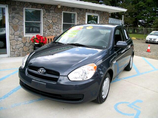 2010 Hyundai Accent Blue GS 3-Door