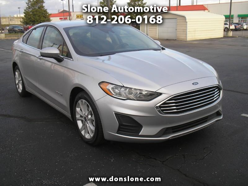 View Ford Fusion Hybrid details
