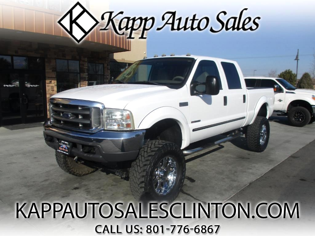 2000 Ford F-350 SD Lariat Crew Cab Short Bed 4WD