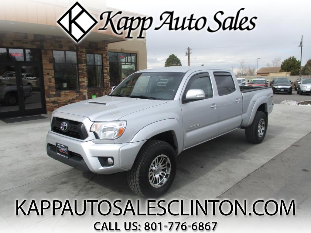 2012 Toyota Tacoma Double Cab Long Bed V6 Auto 4WD