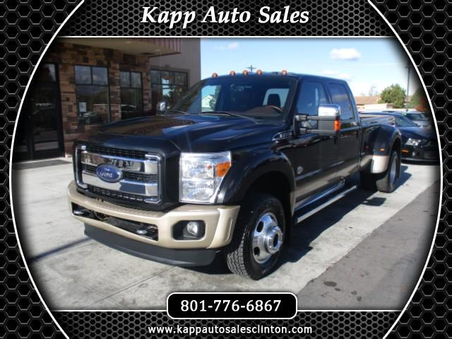 2012 Ford F-450 SD King Ranch Crew Cab DRW 4WD