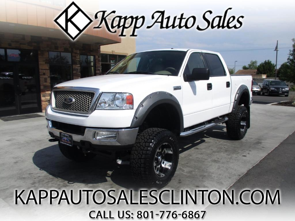 2004 Ford F-150 Lariat SuperCrew 4WD
