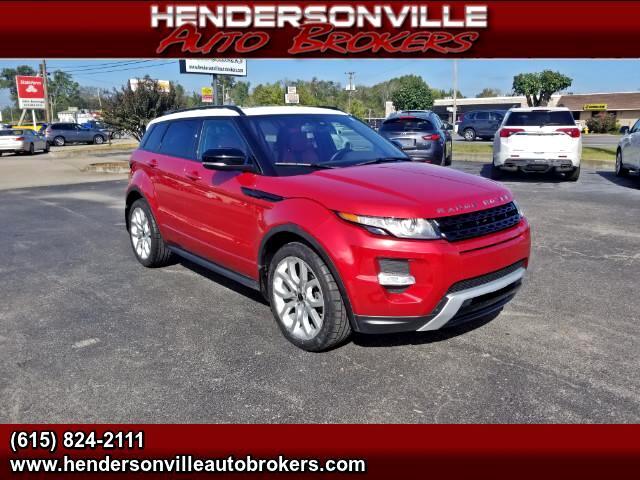 2012 Land Rover Range Rover Evoque Dynamic Premium 5-Door Pure