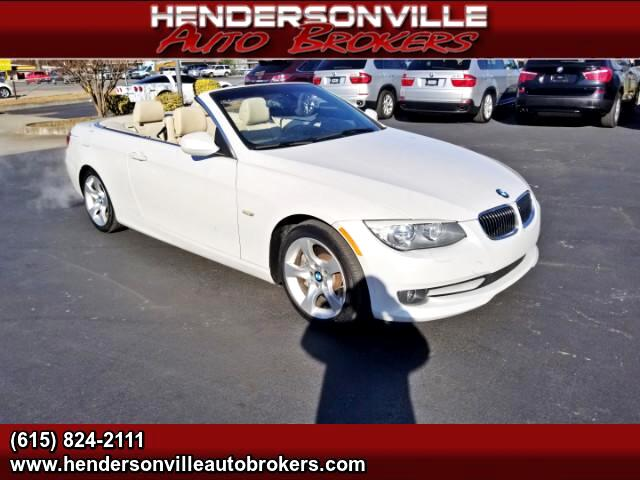 2012 BMW 3-Series 335i Convertible