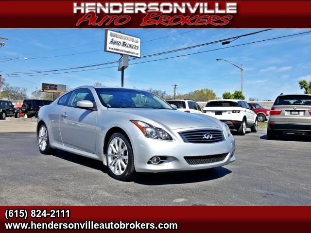 2012 Infiniti G Coupe G37 Journey