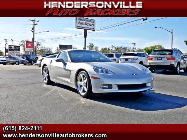 2007 Chevrolet Corvette 2LT Coupe Automatic
