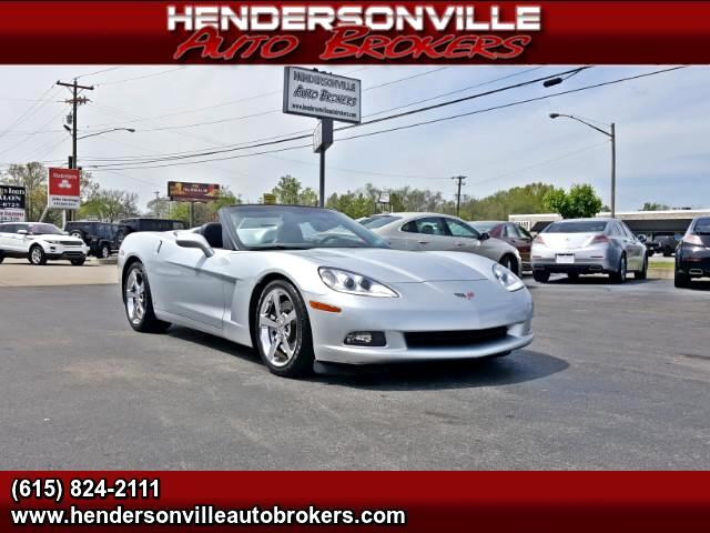 2009 Chevrolet Corvette 3LT Convertible