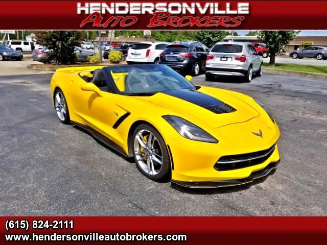 2014 Chevrolet Corvette 3LT Convertible