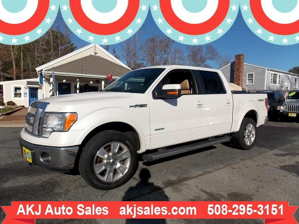 2011 Ford F-150 Lariat SuperCrew Short Bed 4WD