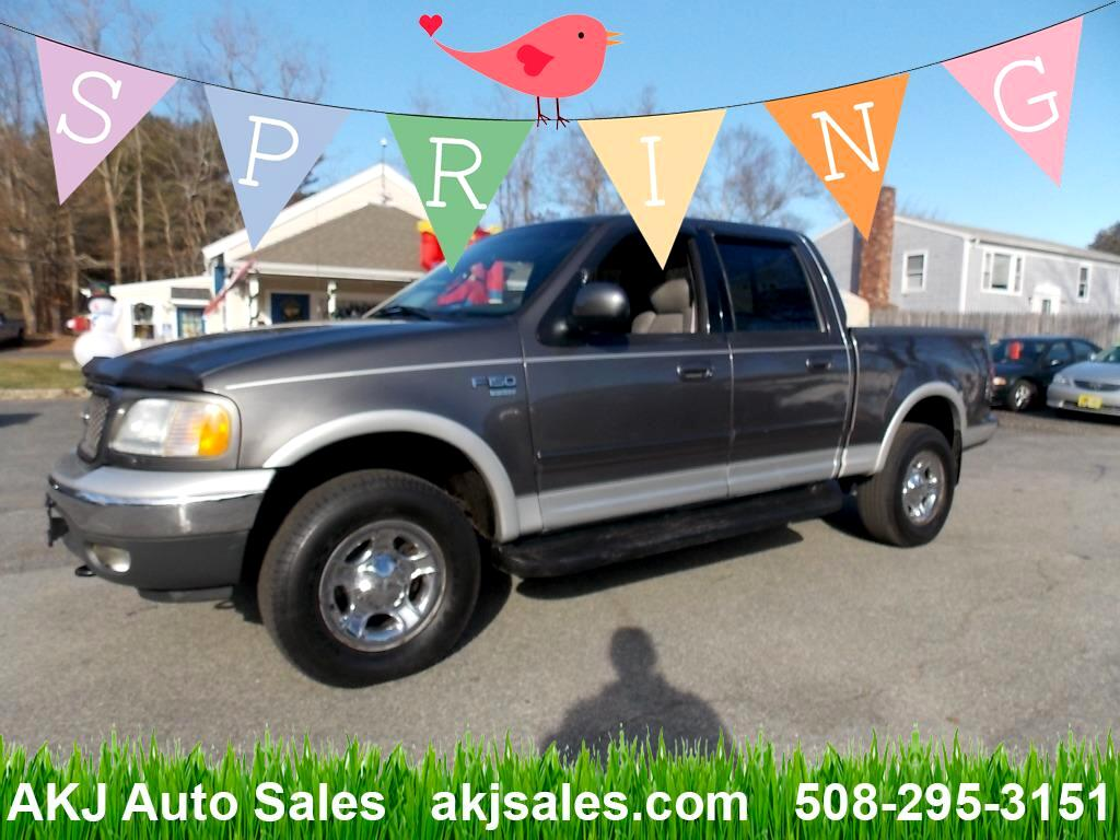 2002 Ford F-150 Lariat SuperCab 5.5-ft. Bed 4WD