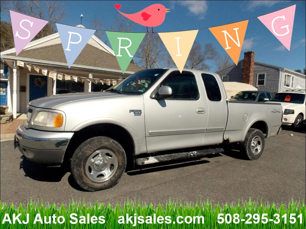 2002 Ford F-150 XLT SuperCab Short Bed 4WD