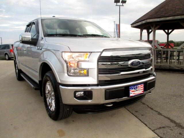 "2016 Ford F-150 Supercab 145"" Lariat 4WD"