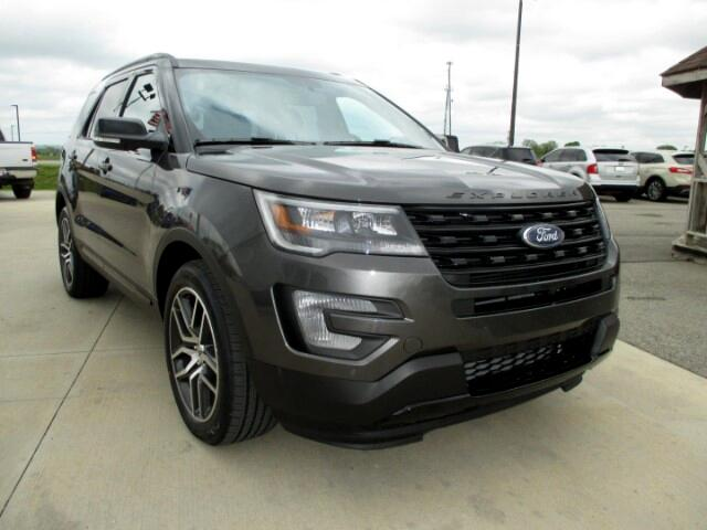 2017 Ford Explorer Sport 4WD