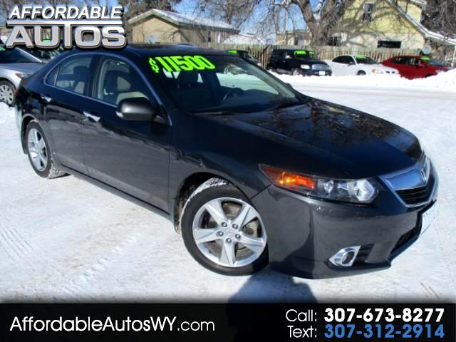 2012 Acura TSX 5-speed AT with Navigation System