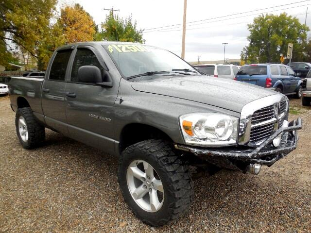 used 2007 dodge ram 1500 slt quad cab short bed 4wd for sale in sheridan wy 82801 affordable autos. Black Bedroom Furniture Sets. Home Design Ideas
