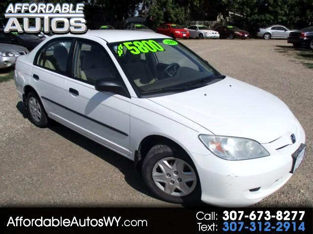 2005 Honda Civic VP Sedan AT