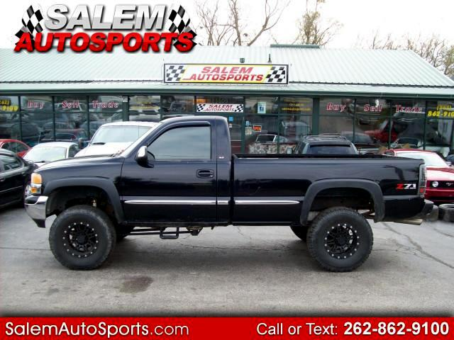 2001 GMC Sierra 1500 SLE Reg. Cab Long Bed 4WD