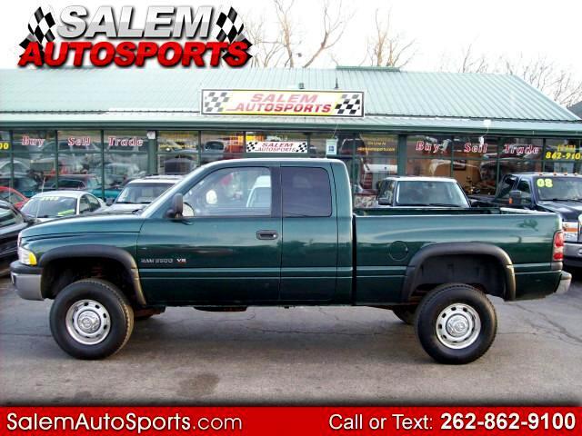 2001 Dodge Ram 2500 Quad Cab Short Bed 4WD