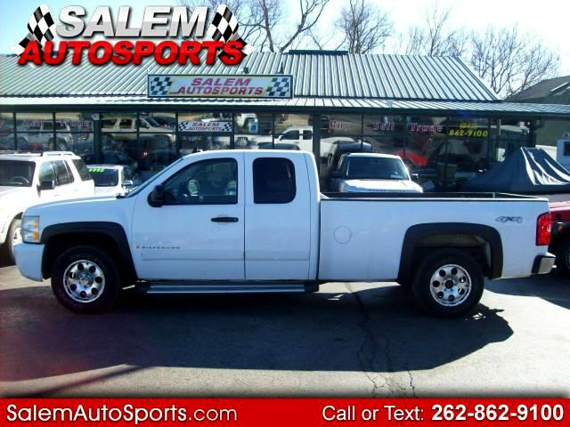 2008 Chevrolet Silverado 1500 Work Truck Ext. Cab Long Bed 4WD