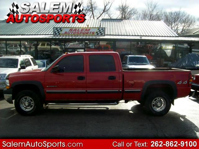 2002 Chevrolet Silverado 2500HD Crew Cab Short Bed 4WD
