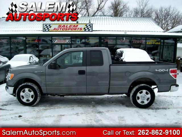 2010 Ford F-150 XLT SuperCab Short Bed 4WD