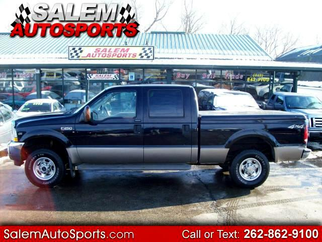 2004 Ford F-250 SD Lariat Crew Cab Short Bed 4WD