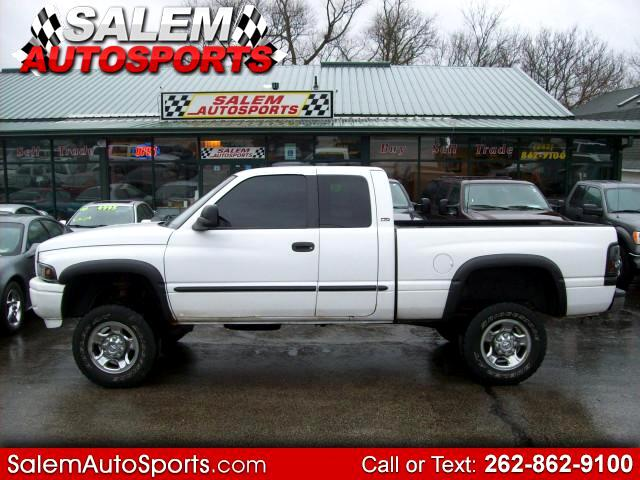 2001 Dodge Ram 2500 SLT Quad Cab Short Bed 4WD