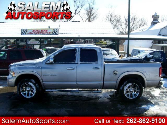 2004 Dodge Ram 1500 Laramie Quad Cab Short Bed 4WD