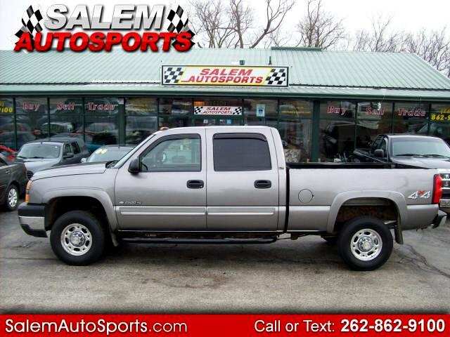 2006 Chevrolet Silverado 2500HD LT Crew Cab Short Bed 4WD