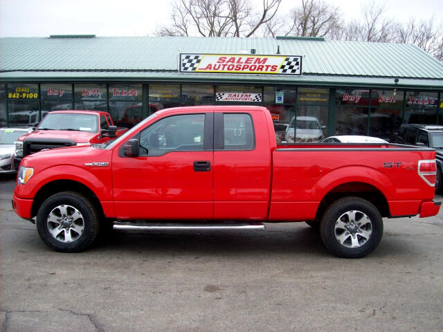 2012 Ford F-150 STX SuperCab 6.5-ft. Bed 4WD